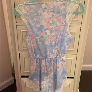 Oh My Love Other - Lace detail romper